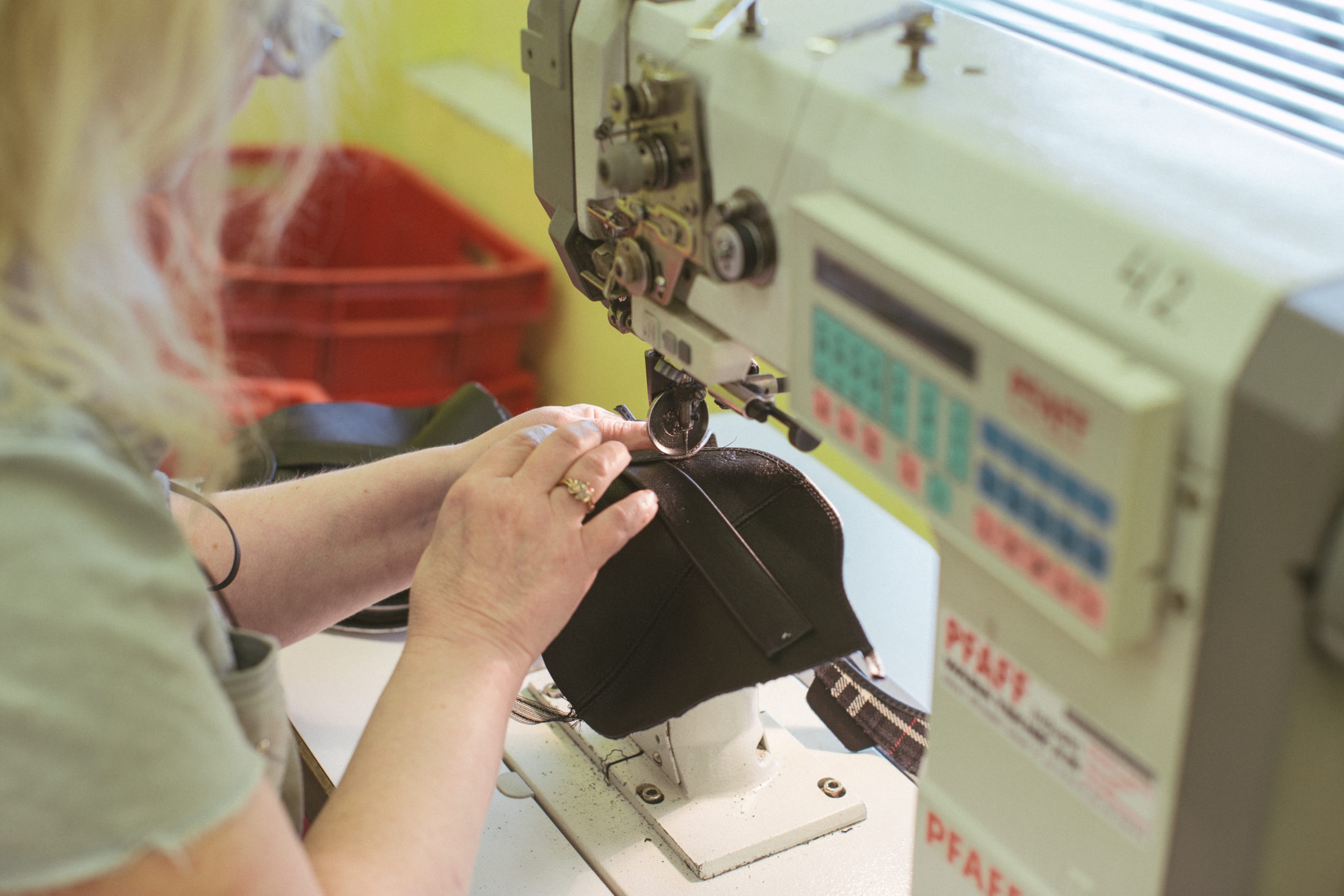 sewing toku shoes
