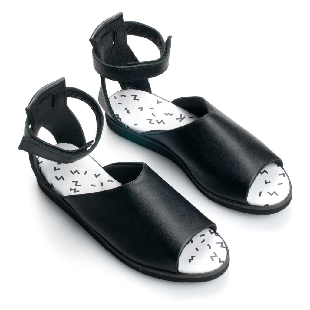 TOKU Tokyo black shoes
