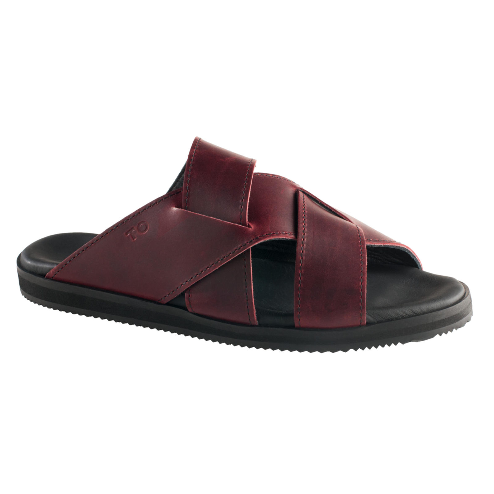 TOKU Helsinki for her bordeaux handmade leather shoes