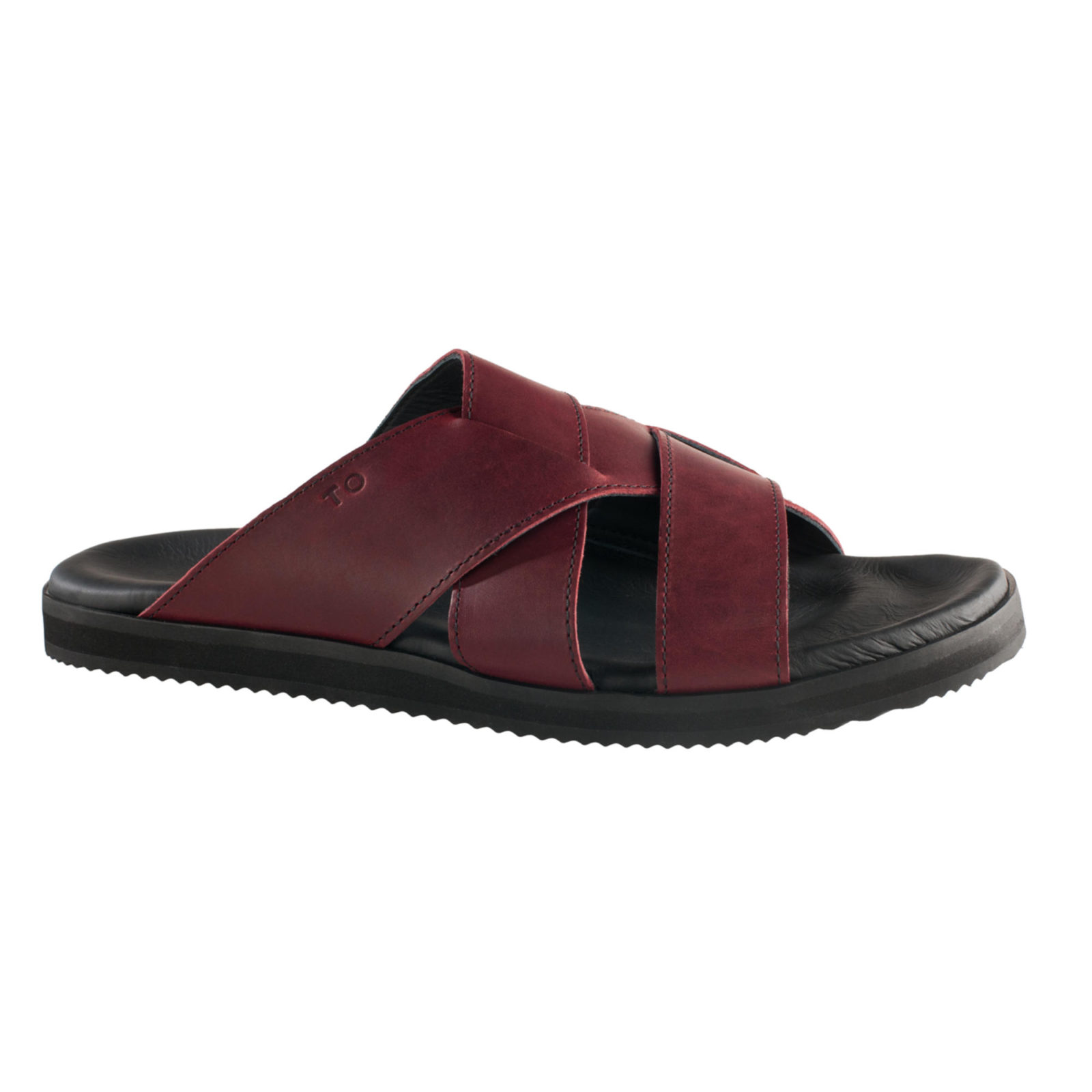 TOKU Helsinki for him bordeaux leather shoes