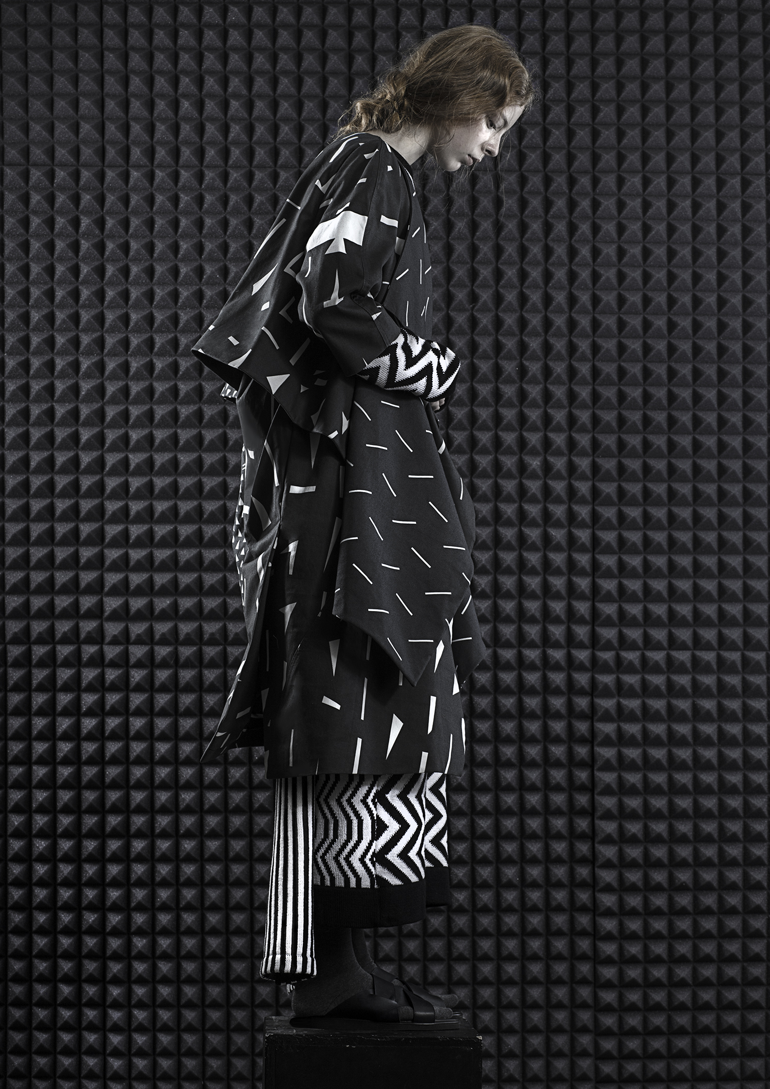 Triinu Pungits fashion x Toku shoes