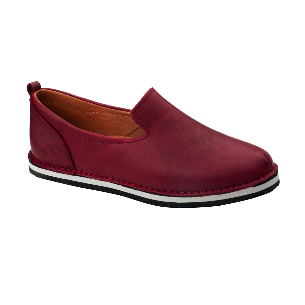 London bordeaux ethically made shoes